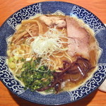麺や 亀陣 - 鶏白湯醤油_700円