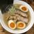 ラーメン 岩佐 - 料理写真:だし香る。あっさり魚介そば(700円)+自家製味付玉子(110円)
