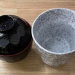 Kuriximixi - 味噌汁と焼酎お湯割り