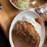 カフェ・イースト - カツカレー1000円