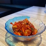 焼肉かまくら本店 - 甘めの食べやすい美味しいキムチ