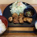 グルメ倶楽部 - 料理写真:若鶏の唐揚ランチ 850円