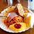 カフェドムッシュ - 料理写真:モーニングメニュー「キャンディ」。