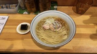 コッチネッラ - 鶏そばしょうゆ750円ナリ