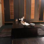 神蔵 - 奥の座敷席へ(喫煙可)