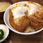 とんかつ 燕楽 - 料理写真:カツ丼1000円