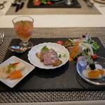 ラ ポルト - 料理写真:前菜5種盛り