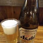 支那そば晃や - 瓶ビール