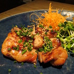 居酒屋 すずや - 【再訪3】鶏のみりん干しは初めて食べましたっ!