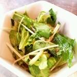 カフェ・マスミヤ - ランチセットデリ(グリーンサラダ)