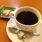 山小屋 - ホットコーヒー  350円