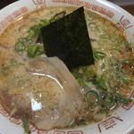 二十一代目 哲麺 - 豚骨醤油ラーメン+青ネギ