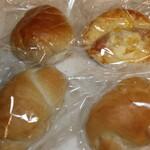 ボーノボーノ - 料理写真:パン4個