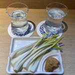 横浜 三河屋 - 島らっきょう500円、なんとお酒にあうアテ…