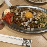 格安ビールと鉄鍋餃子 3・6・5酒場 - * 元祖渋谷焼きそば 620円