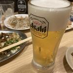 格安ビールと鉄鍋餃子 3・6・5酒場 - * 生ビール 190円