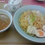 山岡家 - 生姜香る肉つけ麺(中盛)