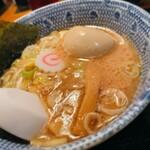 147604274 - 自家製麺つけ麺 紅葉@国分寺 味玉つけ麺 つけ汁