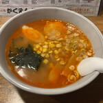 かくえん - 料理写真:激辛みそ中華
