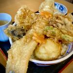 天丼久助 - 料理写真:大穴子天丼1080円って、凄くない❓❓