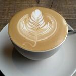 ヤマノシタコーヒー - ドリンク写真:ラテ