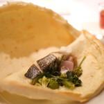 代官山ASO チェレステ - 鹿児島県産さつま漁港直送の鮮魚とお野菜のカルツィオーネ仕立て