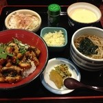 割烹ひぐち - うなぎ丼お楽しみセット 1,144円