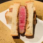 147621877 - ・ブリカツサンド                        ル・シュクレ・クールのパン使用