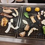 海鮮バーベキュー 大漁丸 - じゅ~