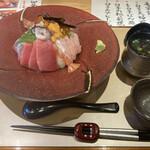 くずし割烹 ぼんた - 10食限定 極み海鮮丼 1980円税抜 +100円で酢飯
