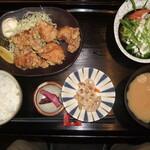 炭旬 - 唐揚げ定食