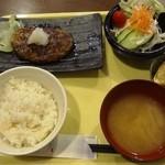 14763868 - おろしハンバーグ定食 780円