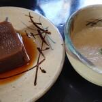 奥丹 - ごま豆腐&とろろ汁♪