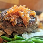 肉山 - 手ごねハンバーグ(手ごねハンバーグ定食)