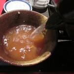 杉並 まん月 - 自然体の蕎麦湯