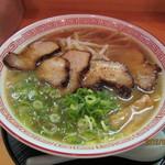屋台らーめん そな - 2012.9.11 熟成醤油とんこつチャーシュ麺ラーメン