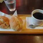 コパ デ カフェ - モーニング:580円