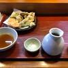 そばまさ - 料理写真:野菜天せいろ(蕎麦が来る前)
