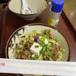 栄福食堂 - トニーそば(中)500円