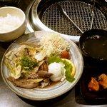 14765994 - 焼肉炒め定食 ¥950