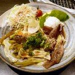 14765996 - 焼肉炒め定食 ¥950