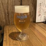 Italian Kitchen VANSAN - ザ・プレミアムモルツ~香るエール~(550円)