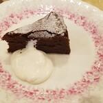 スコット(新館) - チョコレートケーキ