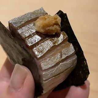 北の華 はやし - 料理写真:鯖の棒寿司