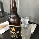 STAR - サッポロ黒ラベル大瓶(600円)