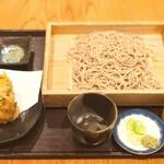 寿屋 寿庵 - 海鮮かき揚げそば 1200円