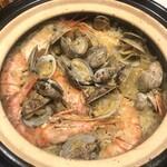 寿屋 寿庵 - 宴会メニューのパエリアです!お好みに合わせて様々なお料理をご用意いたします!