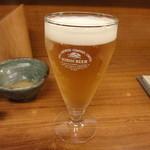 居酒屋 入舟 - 生ビール(2杯目は小ジョッキ・得々セット)