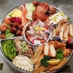 ももどり駅前食堂 - 料理写真:オードブル3000円
