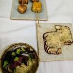 アトワタン - アンティパストと前菜